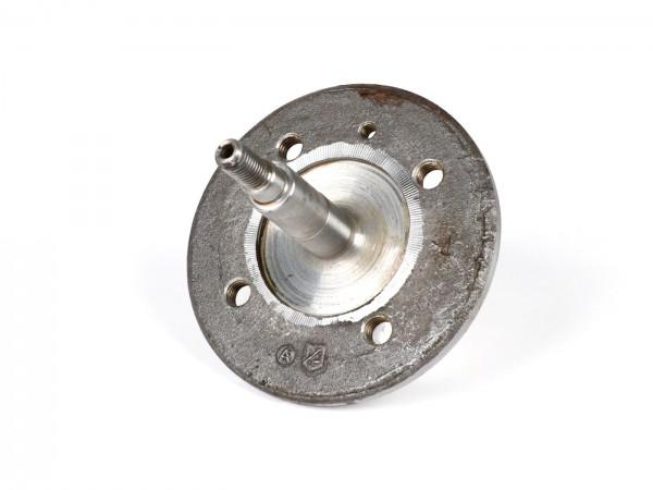 Bremstrommelflansch / Achse vorne -OEM QUALITÄT- Vespa V50(N) (bis Bj 1971), V50 L, V50 S, V90