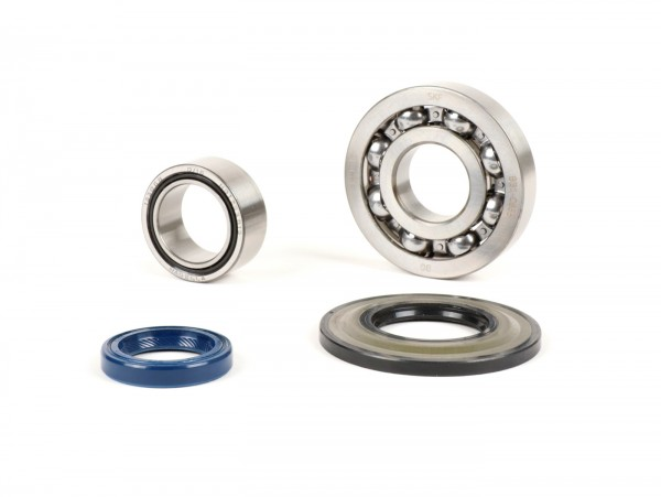 Bearing and oil seal set for crankshaft -PIAGGIO- Vespa PX