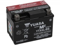 Battery -maintenance-free YUASA YTX4L-BS- 12V, 3Ah - 85x70x115mm (incl. acid)