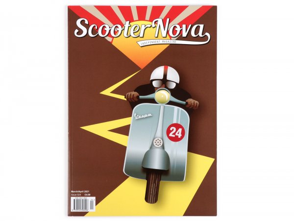Scooter Nova Magazine - (#024) -  March / April 2021