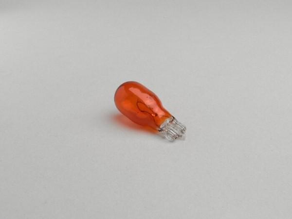 Lampadina -W2,1x9,5d- 12V 18W - arancione