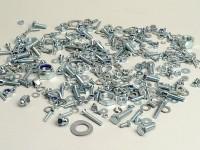 Screw set -JOCKEYS- Lambretta LI, LIS, SX, TV (Serie 2-3), DL, GP - Zinc plated