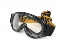 Motorcycle goggles -DMD Seventyfive/Racer Ghost- colourless