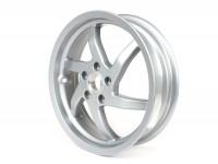 Felge -PIAGGIO 3.50-13 Zoll, Scheibenbremse - 6 Speichen - GILERA Runner VX,VXR 125/200 4T (hinten), Vespa GTS, GTS Super, GTV, GT 60, GT, GT L 125-300ccm -