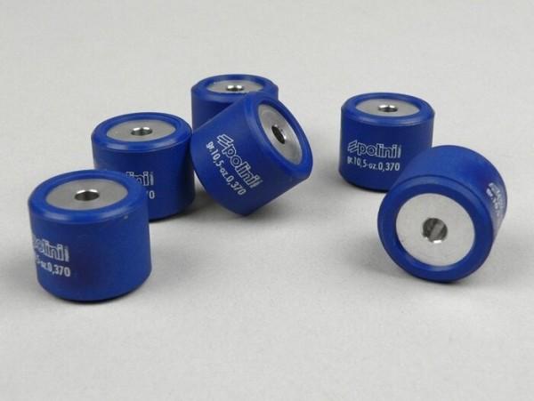 Gewichte -POLINI 21x17mm- 10,5g