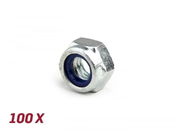 Dado autobloccante -DIN 985- M6 - 100 pz