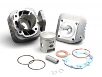 Cylinder kit -OEM QUALITY 70 cc Sport- Sym 2-stroke (horizontal) Jet 50, Mask 50, Red Devil 50, Shark RS 50