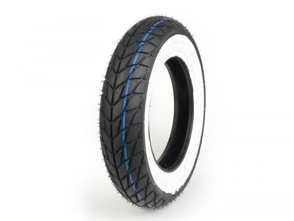 Neumático -SAVA/MITAS MC20 Monsun (M+S)- 3.50 - 10 pulgadas TL 51P - pared blanca