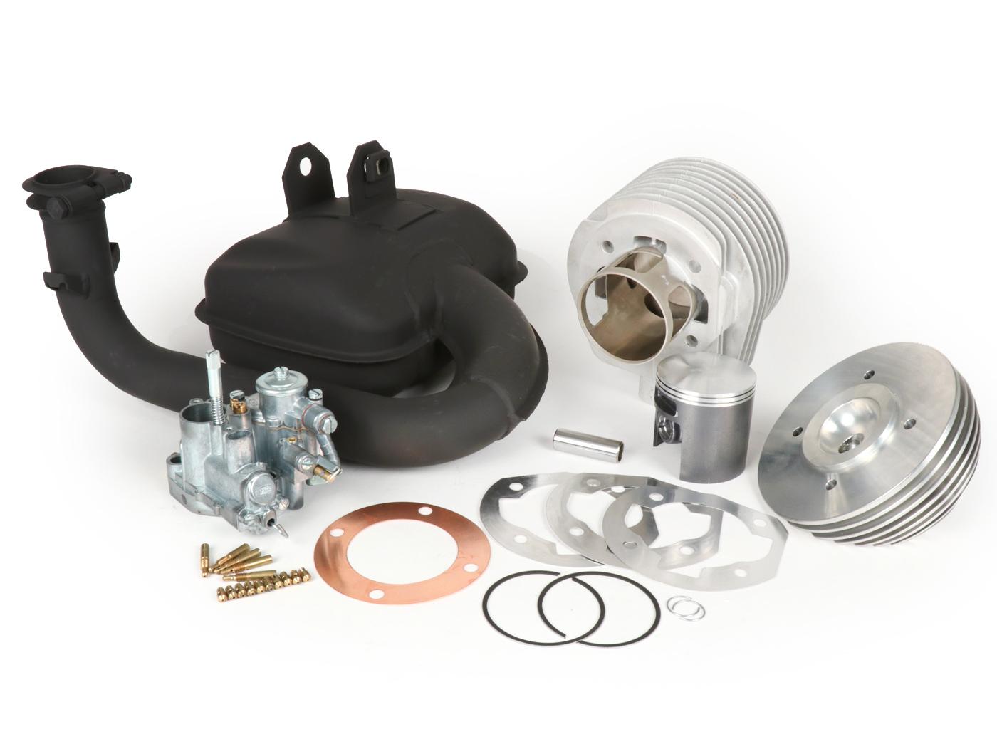 Tuningkit -BGM PRO 177 cc 3 Ports, with autolube- Vespa PX125, PX150,  Cosa125, Cosa150, GTR125, TS125, Sprint Veloce (VLB1T 0150001-) - touring  setup