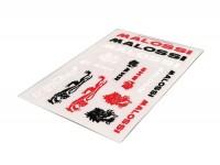 Aufkleber -MALOSSI Mini Stickers- farbig