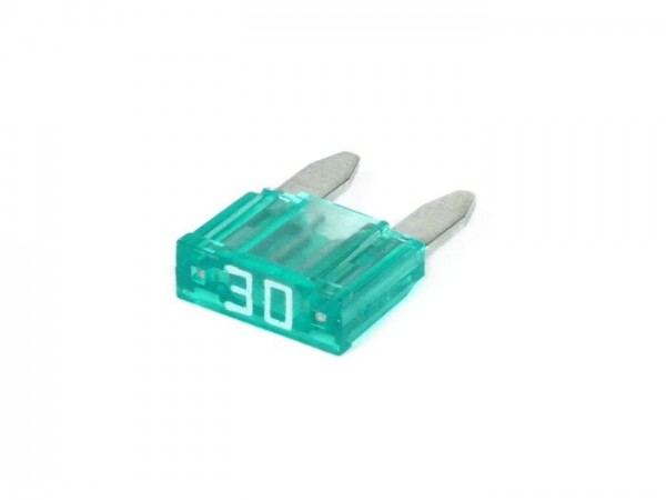 Fuse -FLAT-FUSE (Type MINI, FK1) -30A - green