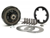 Clutch incl. primary drive set -BGM Pro Superstrong, type Cosa2/FL- primary gear 62 tooth (straight) - Vespa PX80, PX125, PX150, PX200, Cosa, T5, Sprint150 Veloce, Rally, GTR, TS125, Super150 (VBC) - 23/62 tooth (2.69)