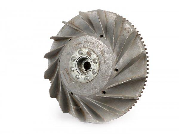 Volante magnético -PIAGGIO (NOS) 2280g- Vespa PX80, PX125, PX150, Cosa  - Elestart (se adapta también a la Vespa PX/PE200)
