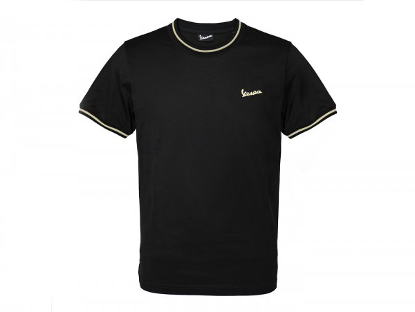 "T-Shirt -VESPA ""75th Anniversary""- schwarz - XXXL"