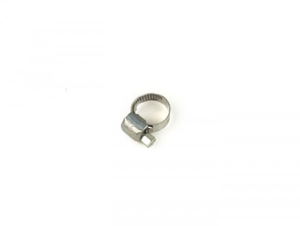 Abrazadera -MiniFlex- ancho de cinta=5mm - Ø=7-11mm