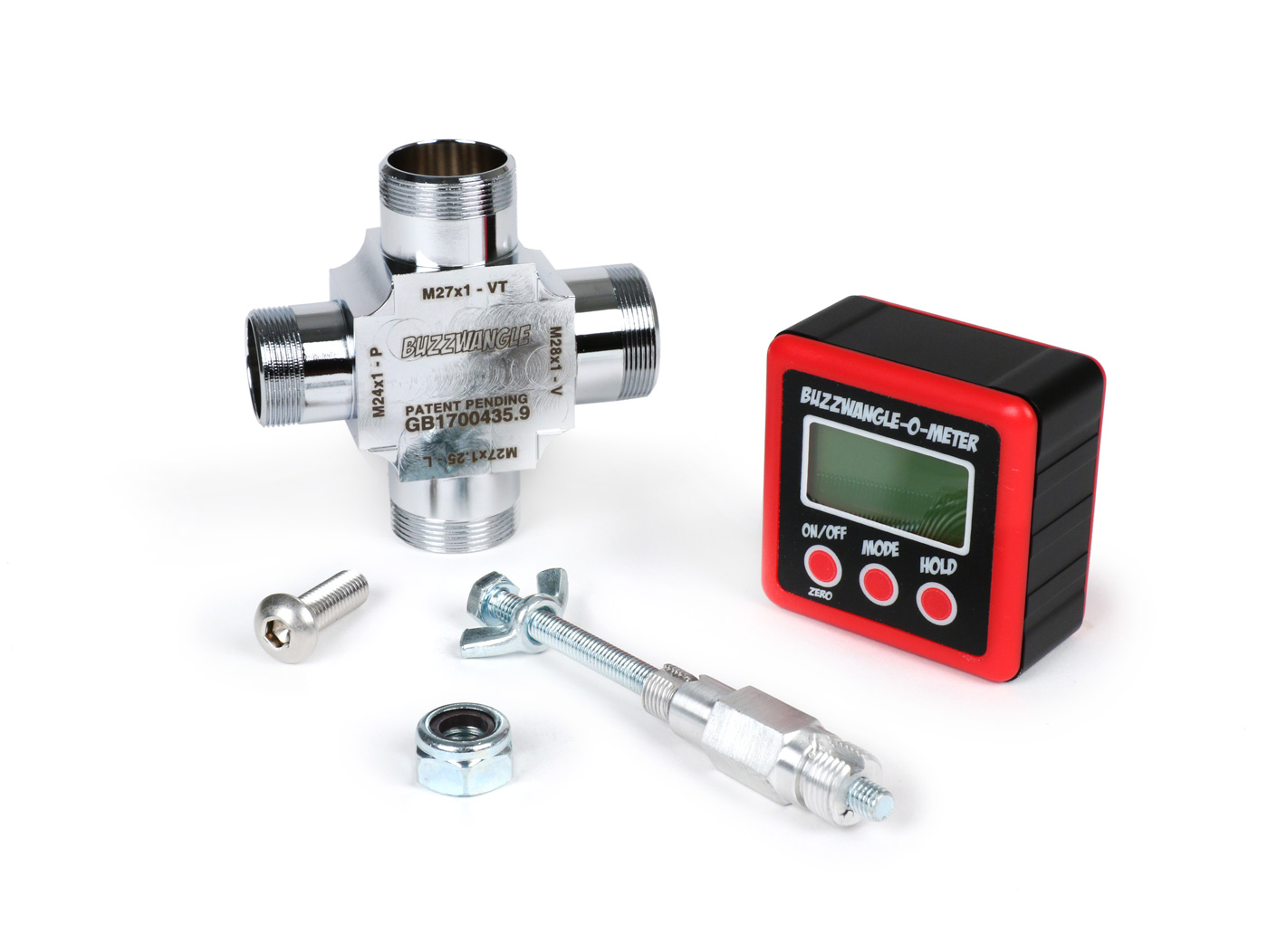 Digital degree wheel -TSR Buzzwangle Ignition and Port Timing Tool- for  digital measurement of ignition timing and port timing of 2-stroke and