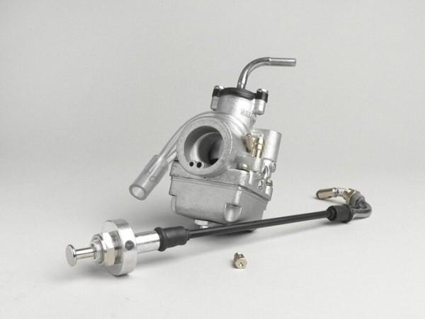 Vergaser -ARRECHE 17,5mm- inkl. manueller Choke, Gummiverbindung - AW=23mm -