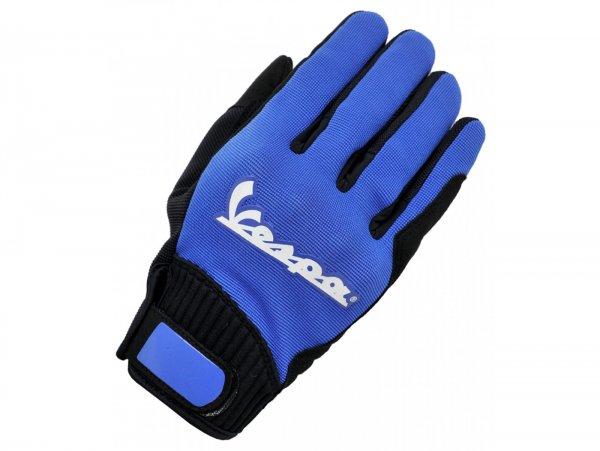 """Gloves -VESPA """"Color - touch"""" - blue - L"""