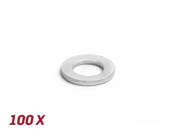 Unterlegscheibe -DIN 125- M8 - 100 Stück