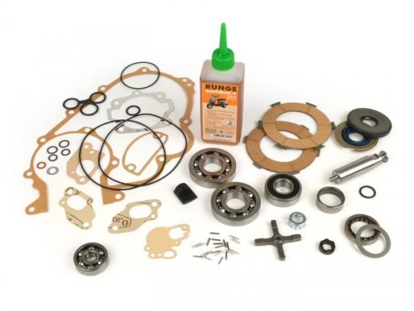 Engine repair kit -PIAGGIO- Vespa 125cc/150cc 2 tranfer ports - Vespa Sprint150 (VLB1T), GT125 (VNL2T), GL150 (VLA1T), Super, VNA, VNB, VBA, VBB