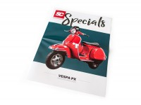 Brochure -SC Specials: VESPA PX- edition 01/2018 -