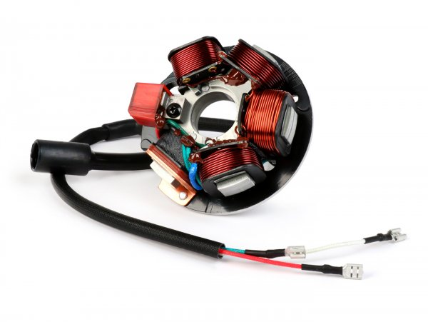 Ignition -BGM PRO stator HP V2.5 silicone- Vespa PK XL - 6 wires