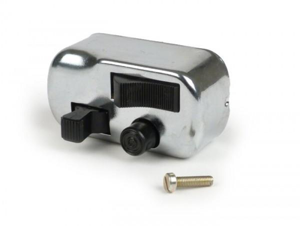 Lichtschalter -PIAGGIO- Ape 50 (TL1T, TL2T), Ape 350 (AE01T, AE02T), Ape 250 (TM1T), Ape 400 (AE2T), Ape MP550 (MPA1T), Ape P601V / MP600 (MPM1T), Ape MP500 (MPR1T), Vespa Commercial 500 (AD2T)
