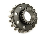 Clutch sprocket -DRT- Vespa Cosa2, PX (1995-) - for primary gear Polini 64 tooth (straight) - 23 tooth