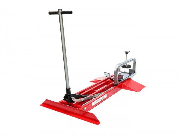 Scooter lift -FA ITALIA Vespa- Vespa Smallframe, Largeframe, Wideframe 50-200cc - 360° turnable, up to 350kg load, lift area 25-100cm, tiltable