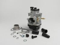 Kit Carburatore -MALOSSI 19mm Dellorto PHBG AS- Morini 50 ccm (tipo Aprilia/Suzuki) - SUZUKI ESTILETE, SUZUKI KATANA50, ZILION 99, APRILIA MOJITO 50, SR50 (Morini Motor)