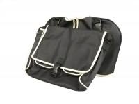 Legshield bag -UNIVERSAL- Vespa V50, PV125, ET3- black