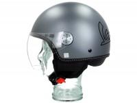 Helmet -VESPA Visor 3.0- grey titanio (707C) - L (59-60cm)