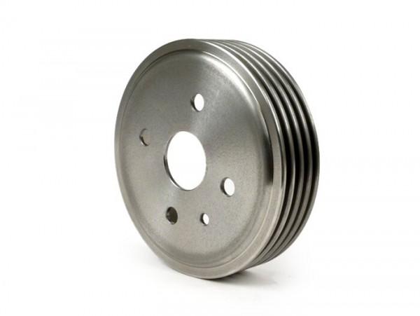 """Tambor de freno delantero 9"""" + 10"""" -BGM PRO hierro gris- Vespa V50 R (V5A1T, -752188), V50 N, V50 S, V50 L, SR50, V90"""