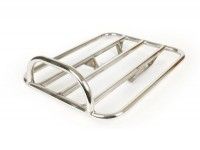 Portapacchi posteriore -SPAQ Sprint Rack 300x400mm- Lambretta LI (serie 1-2), TV (serie 2) - acciaio inox