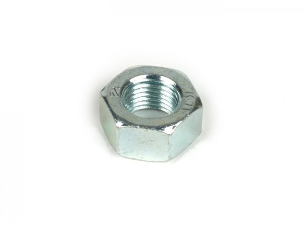 Nut M12 x 1.25 -PIAGGIO- (used for clutch bell) - Vespa GT 250 (ZAPM45102), Vespa GT L 125 (ZAPM31100, ZAPM31101), Vespa GT L 200 (ZAPM31200), Vespa GTS 125 (ZAPM31300, ZAPMA3100, ZAPMA3200, ZAPMA3700), Vespa GTS 150 (ZAPMA3200, ZAPMA3100), Vespa GTS