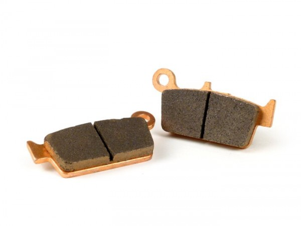 Brake pads -POLINI Sintered 75.2x36.1mm- KYMCO Fever ZX 50cc 1997 (f), Filly 50cc 2000 (f), KB 50cc 1995 (f), Scout 50cc 1999 (f), Sooner 50cc 2003 (f), TB 50cc off 1999 (f), Top Boy 100cc 1998 (f), Top Boy 50cc 1997 (f), Yup 50cc 2002-2003 (f), ZX 5