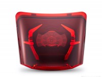 Tail light -HD CORSE LED- Vespa GTS 125-300, GTV (-2014) - red