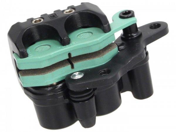 Bremszange hinten -PIAGGIO- Piaggio Beverly 400 (ZAPM34300), Piaggio MP3 400 (ZAPM59102, ZAPM64200, ZAPM59101, ZAPM5910), Piaggio MP3 500 (ZAPM59200, ZAPM64300), Piaggio X8 400 (ZAPM52100), Piaggio XEvo 400 (ZAPM52101), Aprilia SR Max 125 (ZAPM357, Z