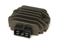 Spannungsregler -5-Pin inkl. Blinkrelais- Vespa ET4 (ZAPM19), LX125-150, LXV125-150, S125-150, Primavera125-150, Sprint125-150, GT125-300, GTS125-300, GTV125-300, GTL125-200, Piaggio 50 ccm Purejet 2-Takt (Einspritzermodelle), 125-200 ccm Leader, Run