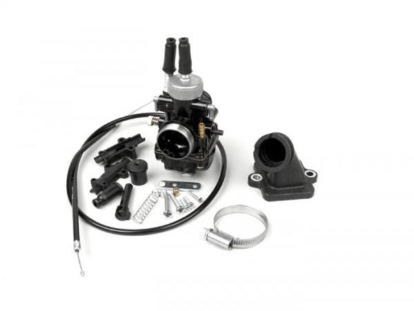 Carburettor kit -BGM Pro 19mm Racing- Peugeot 50 cc 2-stroke (horizontal)- JETFORCE 50 C-TECH, LUDIX 50