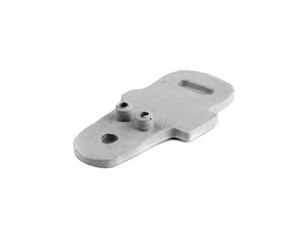 Gasket frame/brake light switch -OEM QUALITY- Vespa Verspa 125 VNB1T, Vespa 150 VBA1T, VBB1T, VLA1T, GS150 / GS3 VS4T-5T, GS160 / GS4 (VSB1T), SS180 (VSC1T), Rally180 (VSD1T), Rally200 (VSE1T) (German models), Sprint (German models) - grey