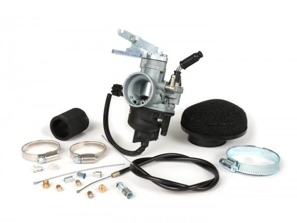 Vergaserkit -PINASCO Dellorto PHVB Ø22mm- Vespa Wideframe VM1T, VM2T, VN1T, VN2T, VL1T, VL2T, VL3T, VB, VGL1, ACMA - ohne Ansaugstutzen