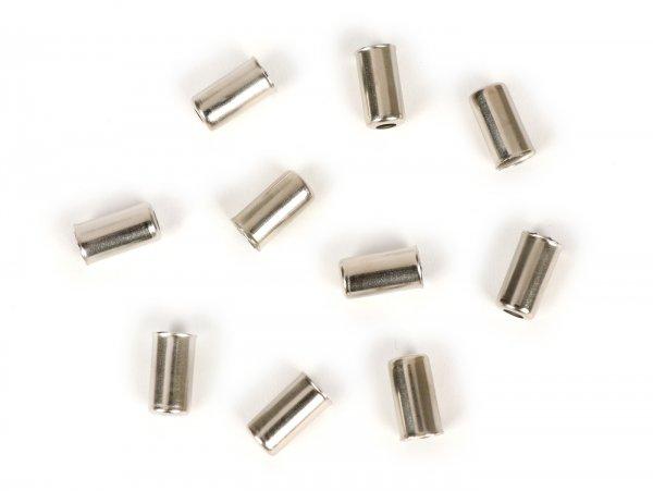 Jeu embouts de gaine -BGM ORIGINAL- Ø int.=7mm - 10 unités