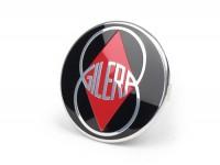 Badge horn cover -GILERA- Gilera Emblem - Runner (since 2006) (ZAPC461, ZAPC462, ZAPM461, ZAPM462, ZAPM463, ZAPM464)