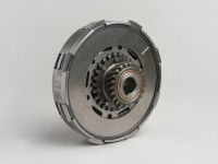 Clutch -VESPA type 7 springs (Ø=115mm)- for genuine primary gear (helical teeth) 65 tooth - 23 tooth - 3 friction plates