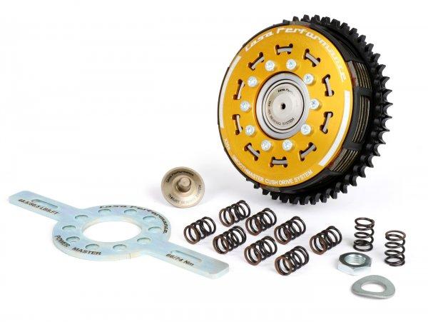 Kupplung -CASA PERFORMANCE SmoothMaster 6 Scheiben, 10 Federn- Lambretta LI, LI S, SX. TV (Serie 2-3), DL/GP - 47 Zähne