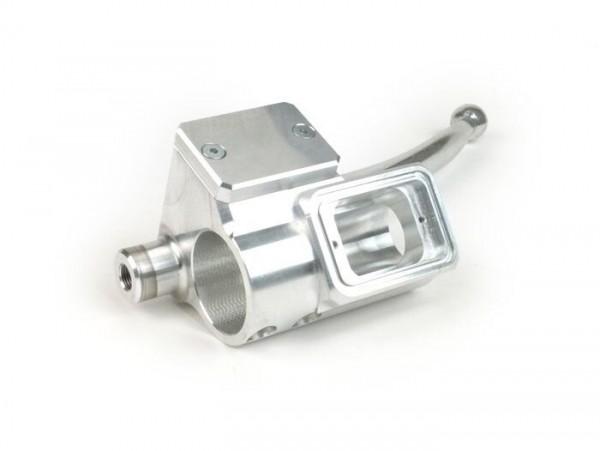 Bremspumpen-Set, Lichtschaltergehäuse -MMW Two in One- Lambretta LI (Serie 1-2) - aluminium