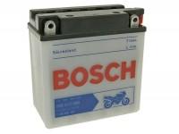 Batterie -Standard BOSCH 12N9-3B / YB9L-B- 12V 9Ah -135x75x139mm (inkl. Säurepack)-