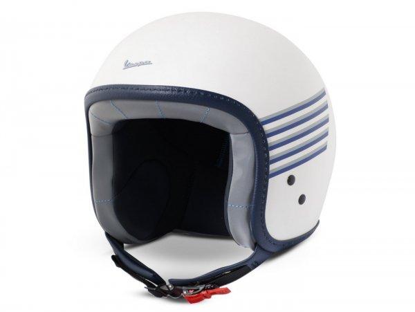 Helmet -VESPA  open face helmet Graphic- white-  XL (61-62 cm)