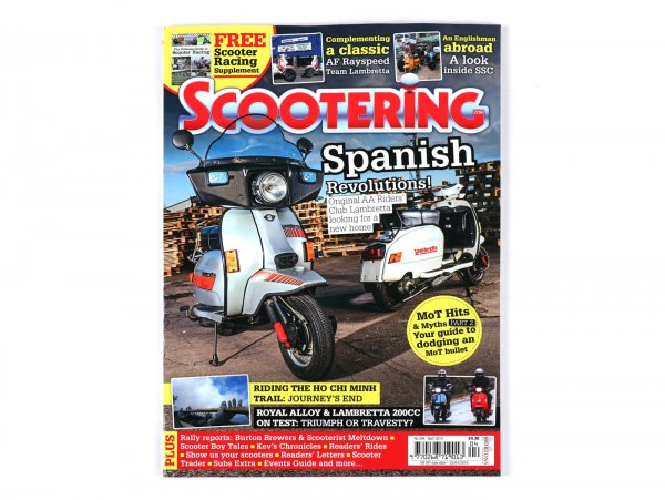 Revista Scootering - (394) abril 2019